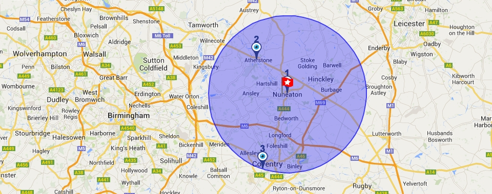 Use our locator to find the opticians near you