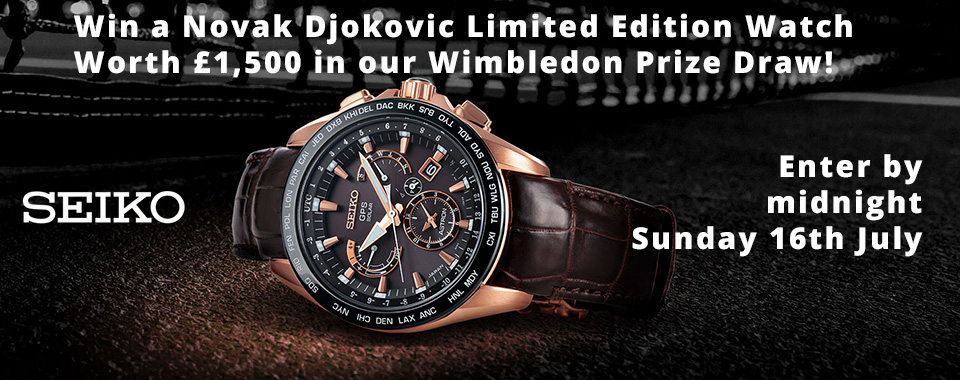 Win a Luxury Novak Djokovic Watch