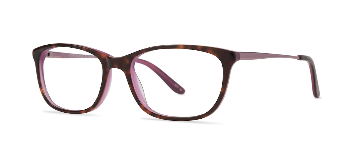 Continental Eyewear Cameo frame, Molly in Rose