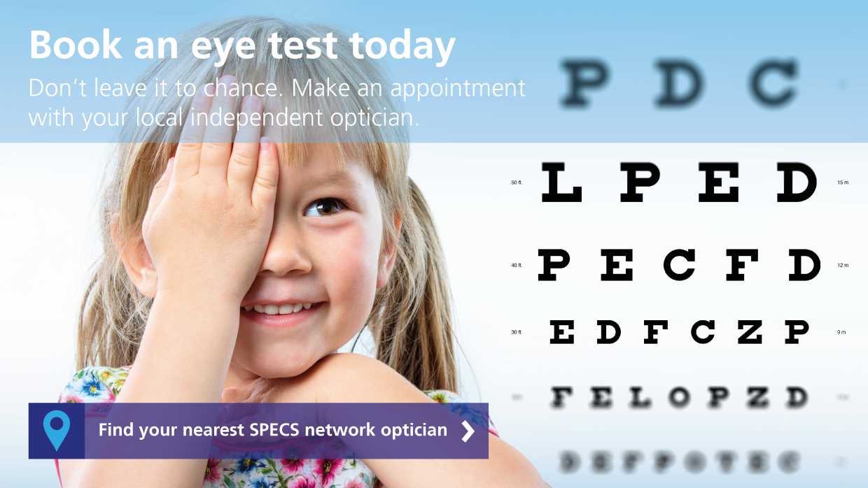 Find your nearest optician