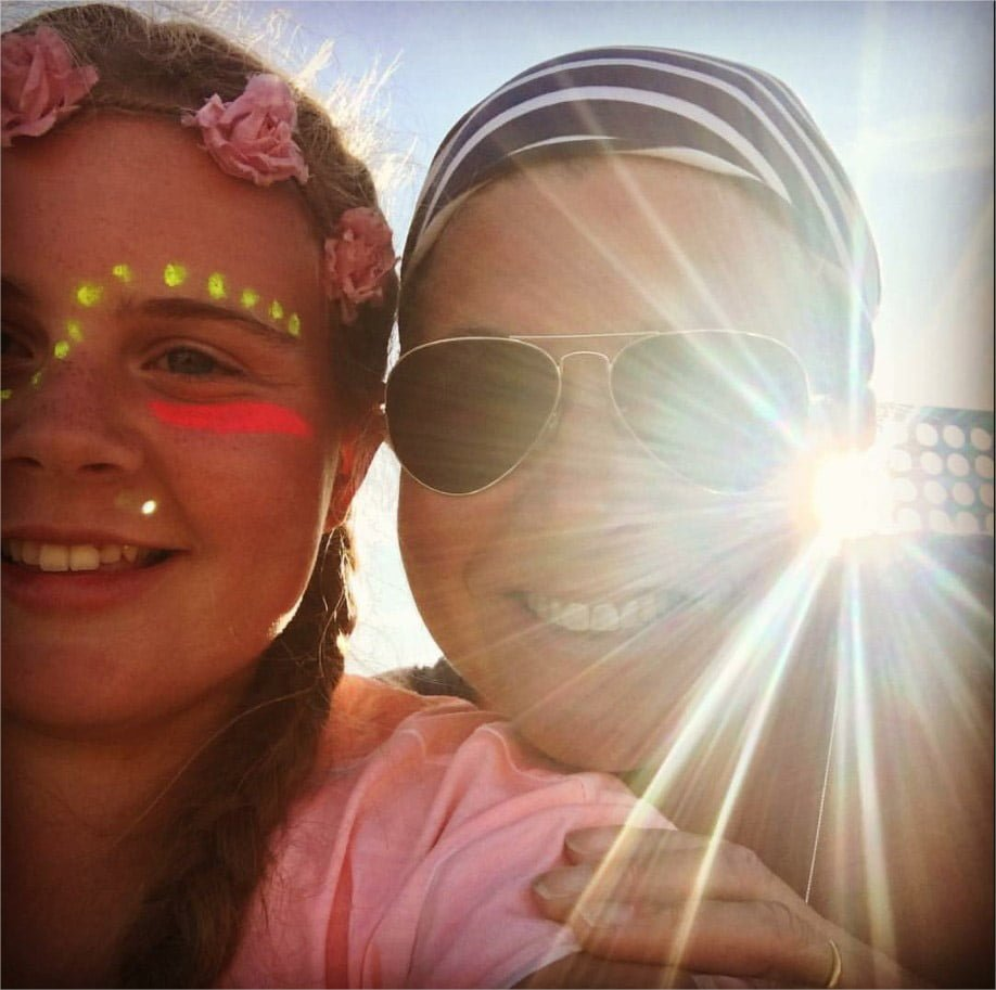 Laura Bryan\'s winning entry in the National Sunglasses Day Selfie Competition