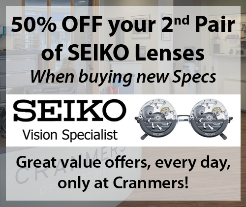 SEIKO-Vision-Specialist-Cranmers-Optomotrists-Minehead-Glasses-Offer