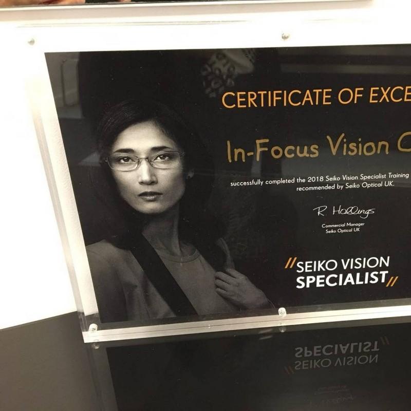 In-focus-vision-centre-certificate